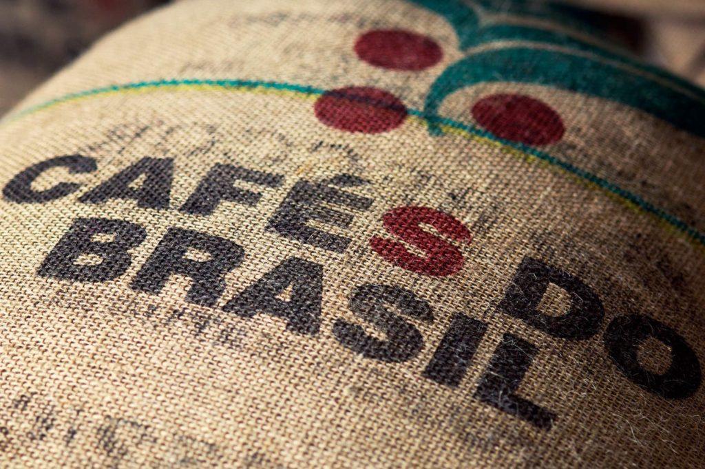 saco de café 100% arábica de Brasil
